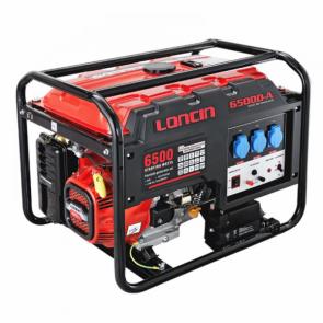 LONCIN LC 6500D-A Γεννήτρια βενζίνης μονοφασική με μίζα και μπαταρία