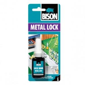 BISON 66473 Metal Lock Κόλλα – Ασφαλιστικό Σπειρωμάτων 10ml