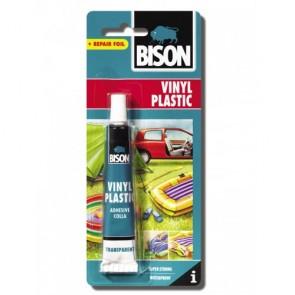Bison - Vinyl Plastic Κόλλα για Μαλακό, Εύκαμπτο PVC
