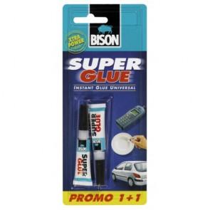 Bison - Κόλλα Στιγμής - Super Glue Προσφορά 1+1
