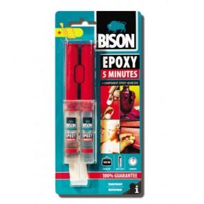 Bison - Εποξική Κόλλα Δύο Στοιχείων - 5 Minutes