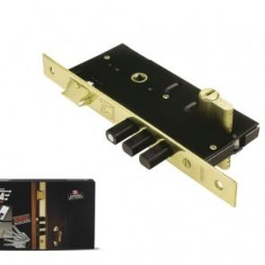 Domus Κλειδαριά Ασφαλείας Ξύλινης Πόρτας Τρίαινα Plus 905EC