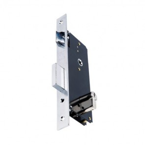 Domus Κλειδαριά Export Ξύλινης Εξώπορτας Εισόδου – Ασημί 90845CR