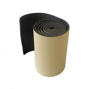 DOORADO  Αυτοκόλλητο αφρώδες προστατευτικό μεγάλου μήκους για τοίχους γκαράζ, μαύρου χρώματος, σε ρολό PARK-FLWP20020B
