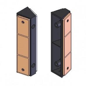 DOORADO Ανακλαστήρας Τοίχου Πλαστικός 180mm PARK DH DE5