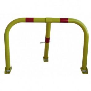 DOORADO  Αρθρωτή μπάρα τύπου U με 3 πόδια HSU3L-8050-4218-GAL-BAM