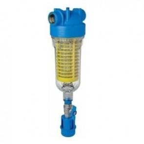 """Συσκευή Φίλτρου Νερού Κεντρικής Παροχής Αυτοκαθαριζόμενο με Inox Σίτα RAH 90μm Hydra 3/4"""" Atlas Filtri"""