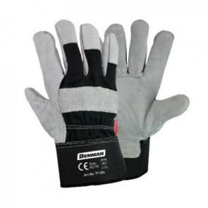 """Γάντια δερματοπάνινα γενικής χρήσης βαρέως τύπου 10.5"""" BENMAN 77304"""