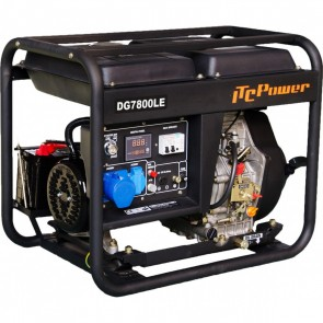 ITC POWER DG 7800 LE Γεννήτρια πετρελαίου μονοφασική με μίζα