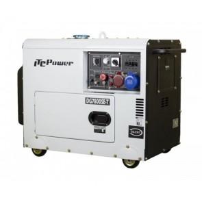 Γεννήτρια Πετρελαίου Τριφασική 7.5 kVA/3ph ITCPOWER - DG7800SE-T