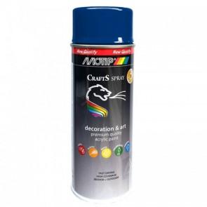 Χρώμα Spray crafts Μπλε Ηλεκτρίκ RAL5002  Motip 400 ml