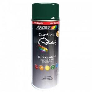 Χρώμα Spray  crafts Πράσινο Σκούρο RAL6005 400 ml