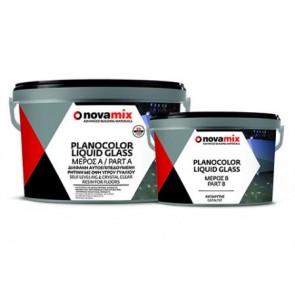 Novamix Planocolor Liquid Glass Υγρό Γυαλί 1 LITR