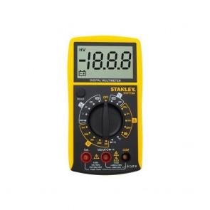 STANLEY - Ψηφιακό Πολύμετρο AC DC 0-300V Με Ηχητική Ένδειξη