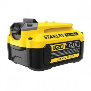 18V STANLEY® FATMAX® V20 6.0AH ΜΠΑΤΑΡΙΑ ΛΙΘΙΟΥ SFMCB206