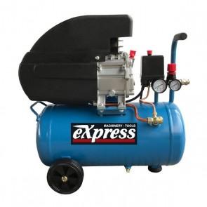 EXPRESS 40133 Αεροσυμπιεστής Μονομπλόκ Λαδιού 2Hp 24L