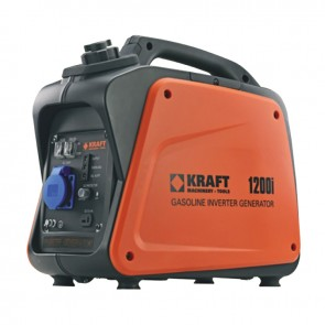 Γεννήτρια βενζίνης Inverter 1000W KRAFT 1200i 63768