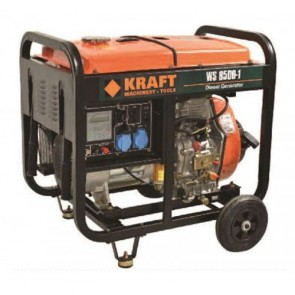 Kraft 63773  Ηλεκτρογεννήτρια Πετρελαίου WS 8500-1 Μονοφασική Ανοιχτού Τύπου 6.000Watt 6.5kVA