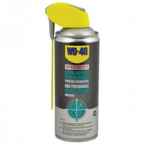 WD-40 SPECIALIST WHITE LITHIUM GREASE ΓΡΑΣΣΟ ΛΙΘΙΟΥ 400ML
