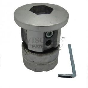 VISCO - Κεφαλή Θαμνοκοπτικού Αλουμινίου 4 Εξόδων Βαρέου Τύπου KEF-11