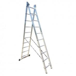 PROFAL - 801210 Σκάλα Αλουμινίου Επαγγελματικής χρήσης 2x10 (Ελαφρού Τύπου)