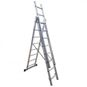 PROFAL - 801308 Σκάλα Αλουμινίου Επαγγελματικής χρήσης 3x8 (Ελαφρού Τύπου)