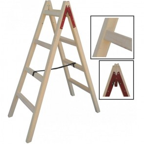 Profal Σκάλα Από Ξύλο Τετράποδη 5 Σκαλοπάτια 802205 1.75m