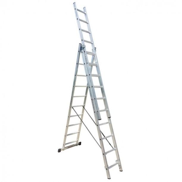 PROFAL - 801310 Σκάλα Αλουμινίου Επαγγελματικής χρήσης 3x10 (Ελαφρού Τύπου)